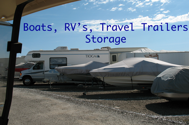 Boats RVs and Travel Trailers