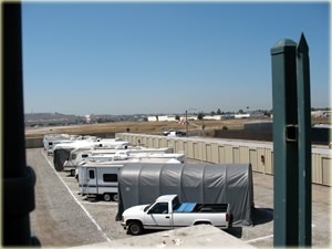 Coast Storage view from roof top