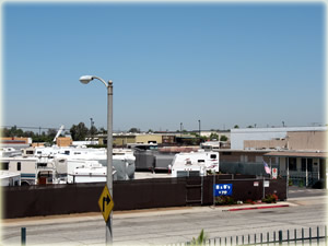 Travel Trailers View From Roof